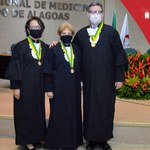 Professores da Ufal são imortalizados na Academia Alagoana de Medicina