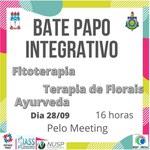 Nova edição do Bate-papo Integrativo acontece nesta terça-feira (28)
