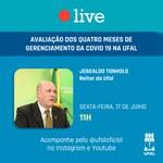 Live da Ufal com o reitor Josealdo Tonholo será logo após reunião do Consuni