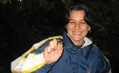 Katyuscia Vieira em campo (Foto: acervo pessoal/reprodução)