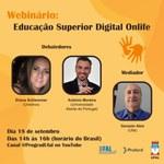 Ufal Conectada e Proford promovem Webinário Educação Superior Digital