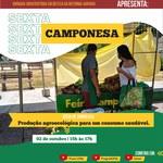 Consumo saudável e agroecológico são temas do Sextas Camponesas