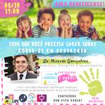 Liga de Pediatria promove aula beneficente sobre covid-19 e crianças