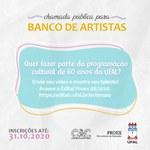 Universidade chama artistas para compor eventos dos 60 anos