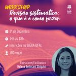 Ufal em Penedo promove oficina on-line sobre revisão sistemática