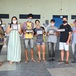 Pinacoteca da Ufal premia alunos de escola do bairro Santos Dumont