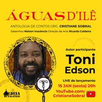 Professor da Ufal é um dos autores em Águas d´ilê, que será lançado dia 15