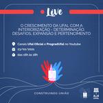 Evento virtual dá início às comemorações dos 15 anos do Campus Arapiraca