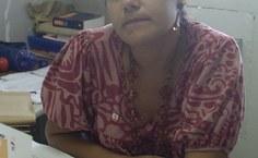 Coordenadora  do curso de Educação Física, Vannina de Oliveira Assis