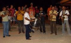 Orquestra de frevo animou a noite