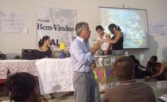 Diretor Williams Soares conversa com os estudantes