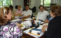 Professores da Ufal e representantes do Instituto