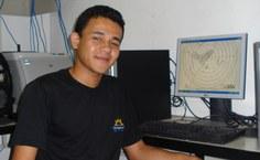 Edizânio José, aluno de Meteorologia