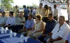 Solenidade de doação do terreno para a Ufal