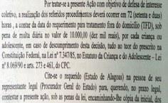Liminar cobra multa ao estado de R$ 10 mil para cada bebê que não for atendido (Foto: Porllanne Santos)