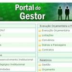 Portal do Gestor tem informações para a comunidade acadêmica
