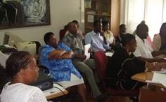 Educadores de Moçambique acompanharam a discussão