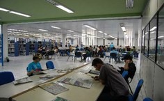 Ambiente agradável e apropriado para estudo
