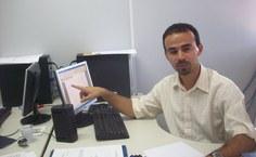 Professor Pedro Valentim, coordenador do Curso de Física do campus Arapiraca