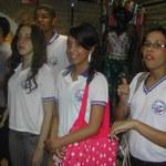 Estudantes surdos conhecem Museu Théo Brandão
