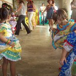 Arraiá do NDI contou com quadrilhas e brincadeiras populares