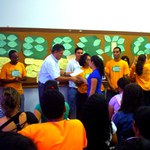 Estudantes ambientalistas recebem certificado da Proex