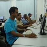 Seguranças do campus participam de projeto de inclusão tecnológica