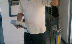 Paulo Petter, lotado no Igdema, preparando uma das sondas utilizadas na pesquisa