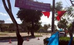 Três cores enfeitam o campus Maceió