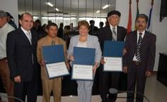 Homenageados pelo título de cidadãos honorários de Delmiro Gouveia