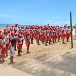 Alunos de Nutrição avaliam crianças do Projeto Golfinho