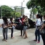 Novos alunos movimentam o campus em Maceió