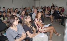 Alunos e professores participaram da aula inaugural