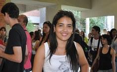 Andressa está iniciando o curso de Pedagogia na Uneal e elogiou a programação da Semana