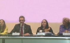 Eduardo Setton dá as boas-vindas aos cubanos em nome do governo do Estado