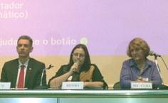 Vice-reitora da Ufal, Rachel Rocha, destacou a importância da cooperação científica