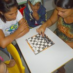 Projeto de extensão usa jogo de xadrez no processo de aprendizagem