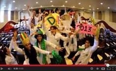Formandos de Medicina celebram com animação conclusão de curso