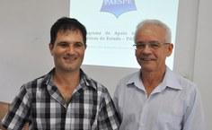 Luciano Barbosa e Roberaldo Carvalho apresentaram funcionamento do Paespe a diretores de escolas da 14ª Coordenadoria de Ensino