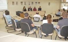 Reunião realizada nesta terça-feira, 10, na Sala dos Conselhos Superiores