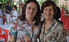 Gianna Melo e Veronica Robalinho, vice-diretora e diretora da FAU