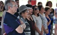Professores aposentados foram homenageados na cerimônia de comemoração aos 40 anos do curso de Arquitetura