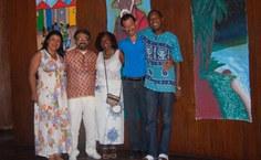 Participantes da programação do Fórum Mestre Zumba