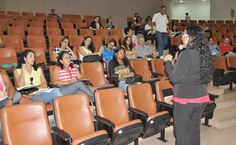 Educadores participaram da primeira aula