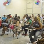 Oficina de alimentação saudável orienta crianças e gestantes