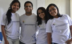 Equipe organizadora do curso