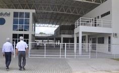 Visita ao Centro de Interesse Comunitário, onde está instalada a Edufal