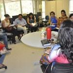 Assessores se reúnem para o planejamento da divulgação do Caiite 2014