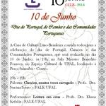 Casa de Cultura Luso-Brasileira promove evento em homenagem ao Dia de Portugal