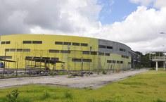 Novo prédio do Igdema em construção